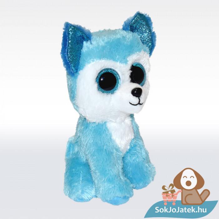 TY Beanie Boos - Prince, kék színű plüss husky, jobbról