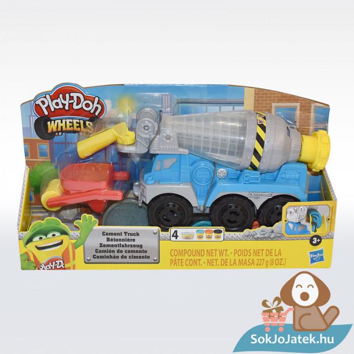 Play-Doh: Betonkeverő autó gyurma készlet