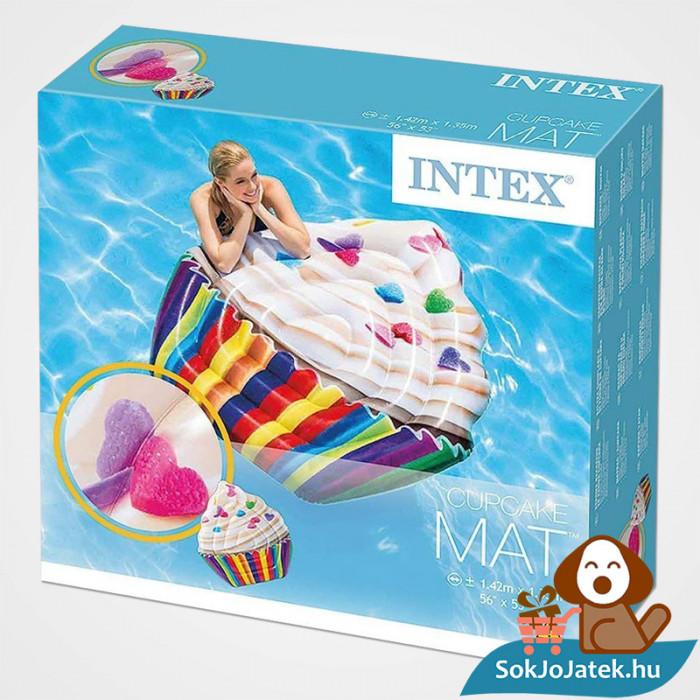 Intex 58770: Muffin formájú felfújható strand matrac doboza