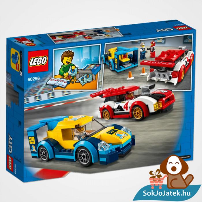 Lego City 60256 Versenyautók doboz