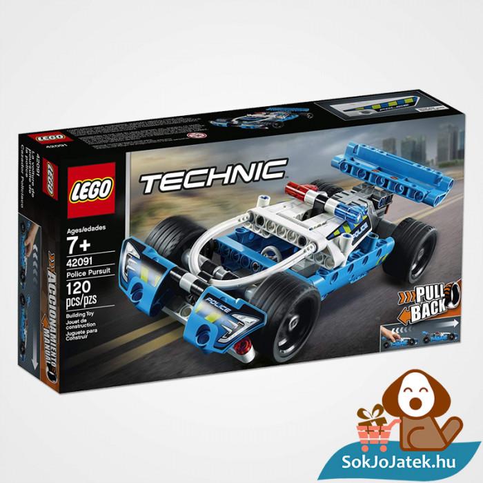 Lego Technic 42091 - Lendkerekes rendőrségi üldözés doboza előről