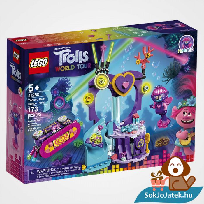 Lego 41250 - Trolls: Táncparti a techno szirten építőjáték doboza