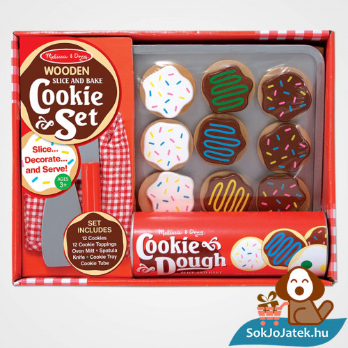 Melissa & Doug Sütés-főzés, Sütemények szerepjáték szett doboz