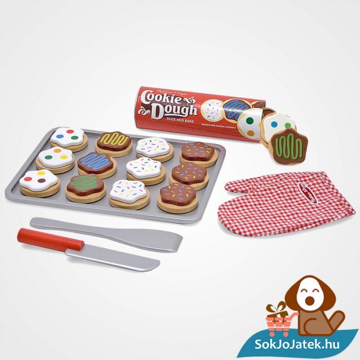 Melissa & Doug Sütés-főzés, Sütemények szerepjáték szett sütemények és tartozékai