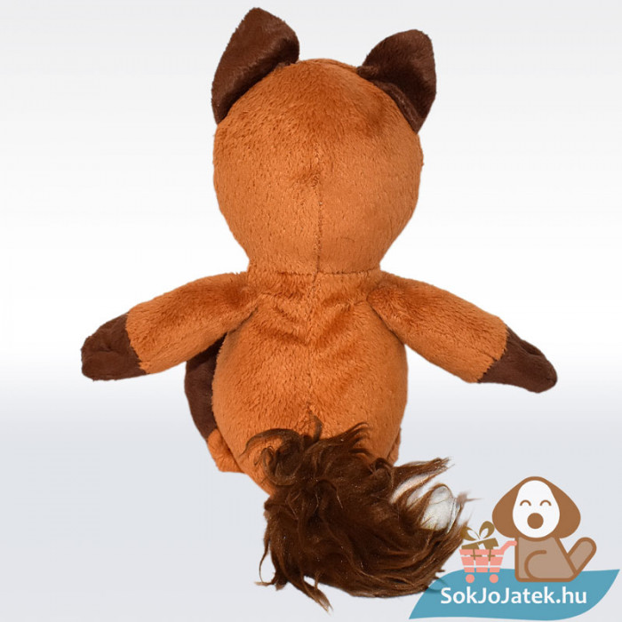Kinder barna plüss róka, hátulról