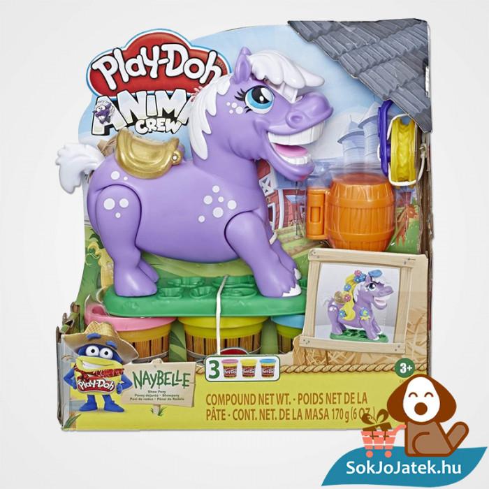 Hasbro, Play-Doh Play-Doh Animal Crew - Naybelle, a rodeó póni gyurmaszett doboza
