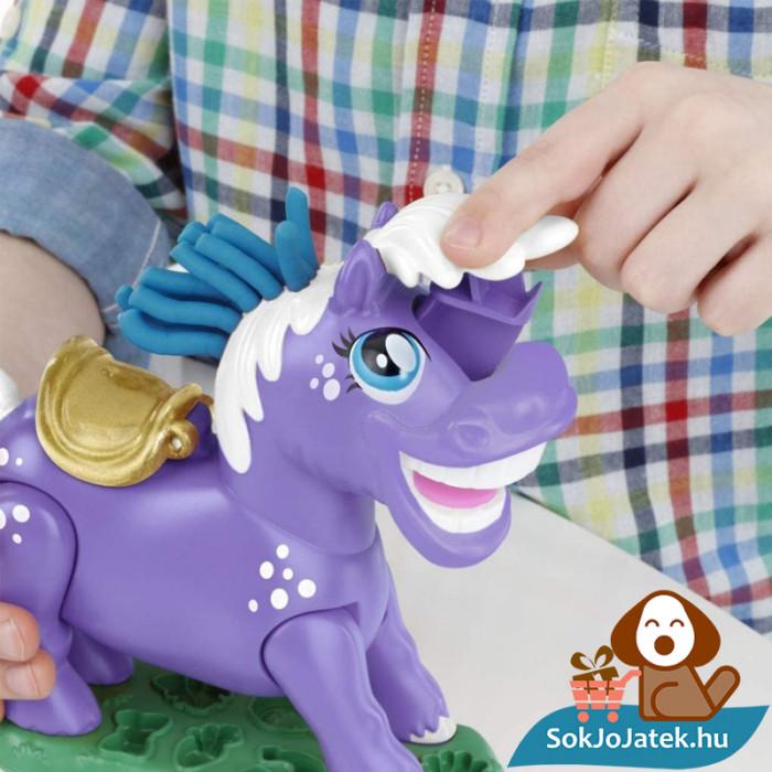 Hasbro, Play-Doh Play-Doh Animal Crew - Naybelle, a rodeó póni gyurmaszett feje