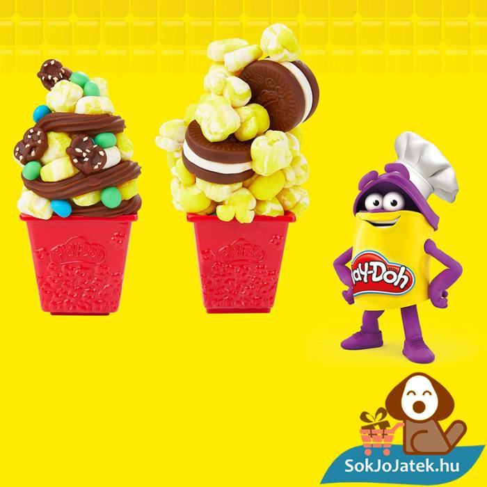 Hasbro Play-Doh gyurma popcorn készítő party szett ötletek