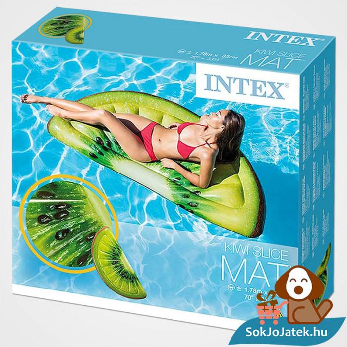 Intex 58764: Kivi formájú felfújható strand matrac doboza