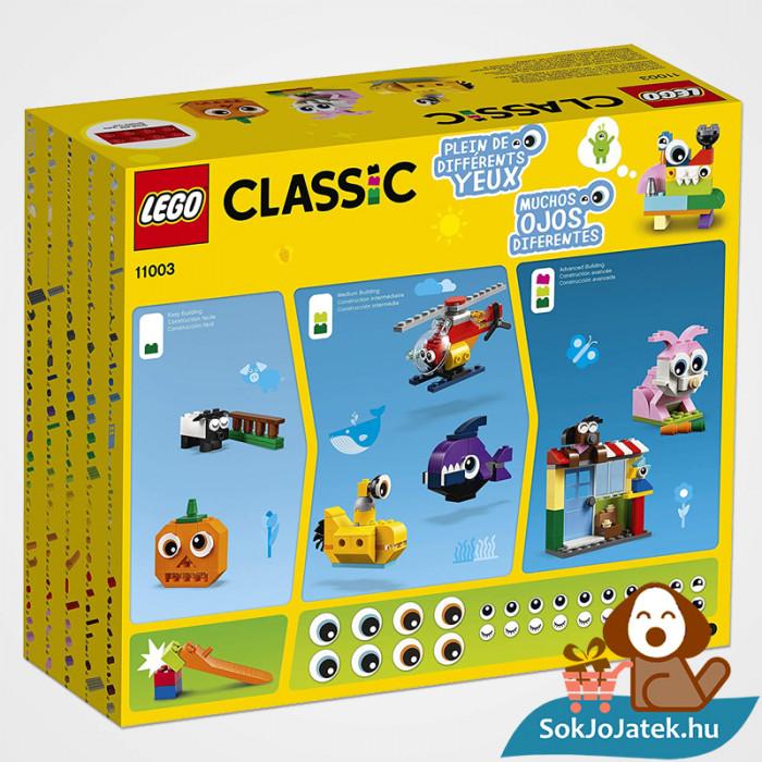 Lego Classic 11003 - Klasszikus szemek dobozának hátulja