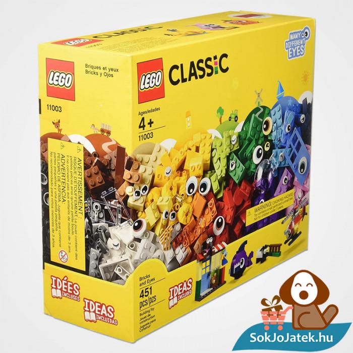 Lego Classic 11003 - Klasszikus szemek dobozának oldlala