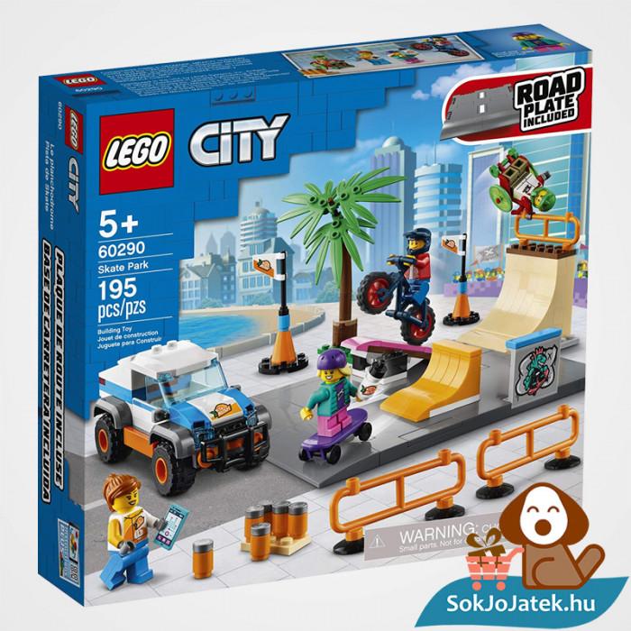 195 darabos Lego City - Gördeszkapálya doboza