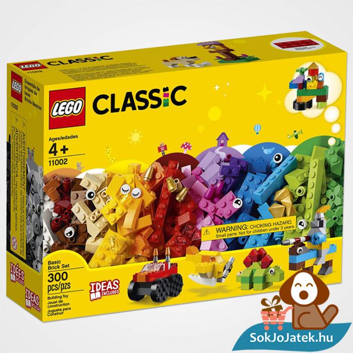 300 darabos Lego Classic (11002) alap kocka készlet doboza előről