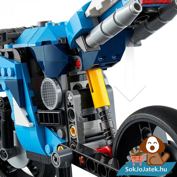 Lego Creators 31114 Szupermotor közelről