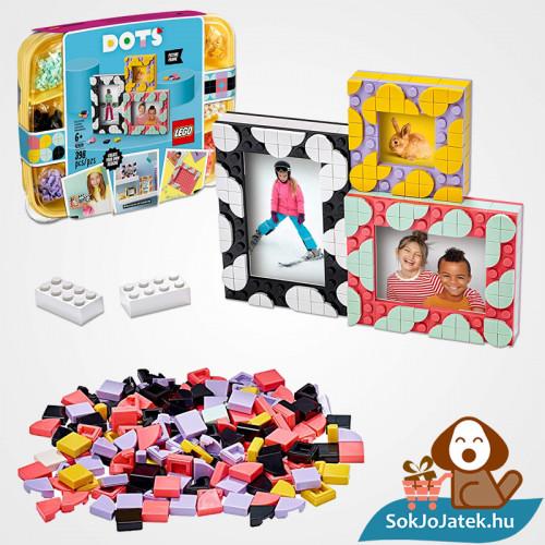 LEGO Dots 41914 doboza és a legó darabkái