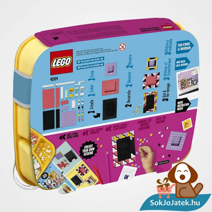 LEGO Dots 41914 doboz hátulja