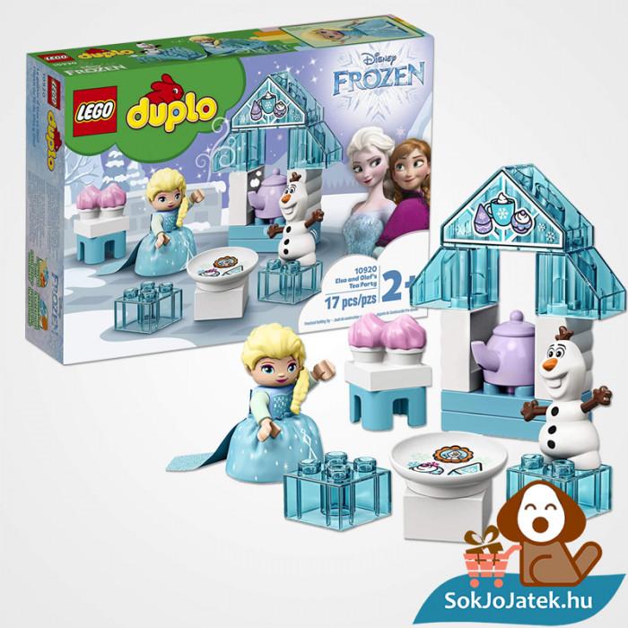 LEGO Duplo 10920 - Elza és Olaf tea partyja 17 építőkockából