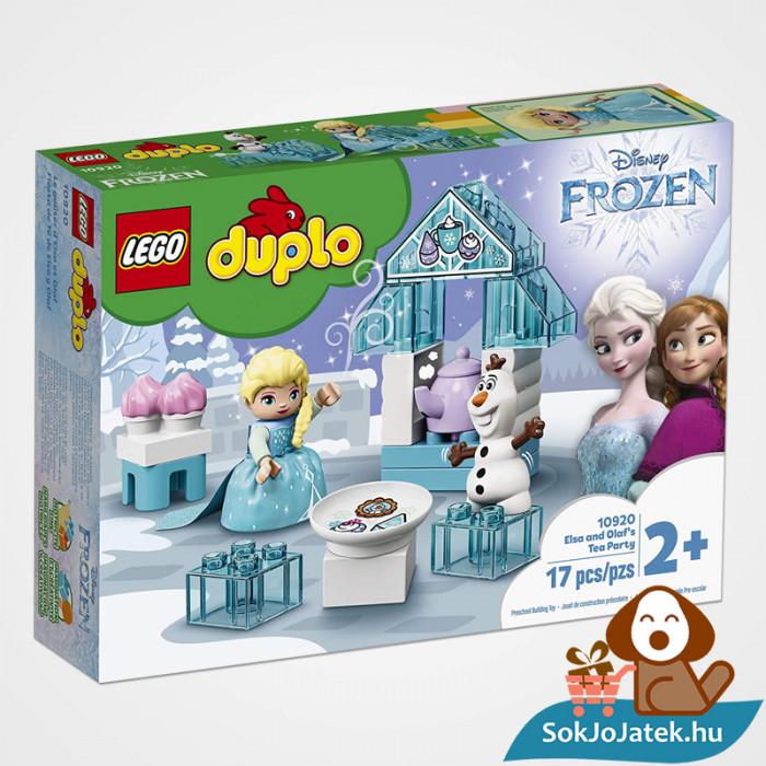 LEGO Duplo 10920 - Elza és Olaf tea party doboza