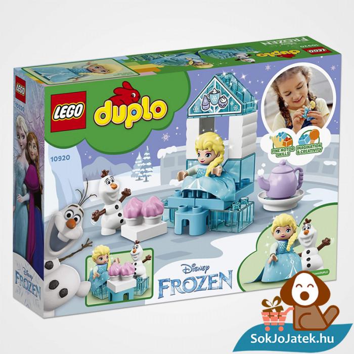 LEGO Duplo 10920 - Elza és Olaf tea party doboza hátulról