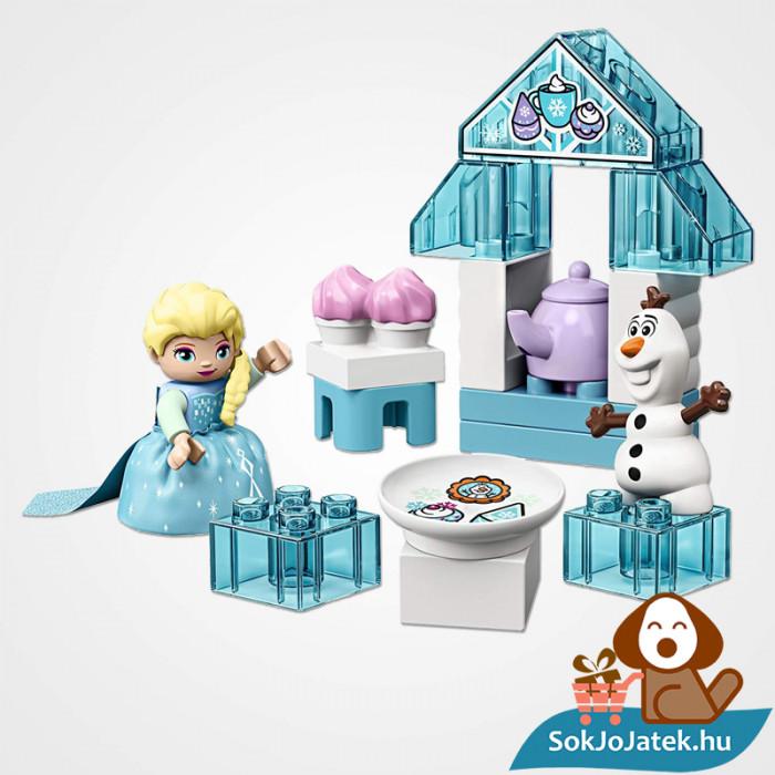 LEGO Duplo 10920 - Elza és Olaf tea party összeépítve