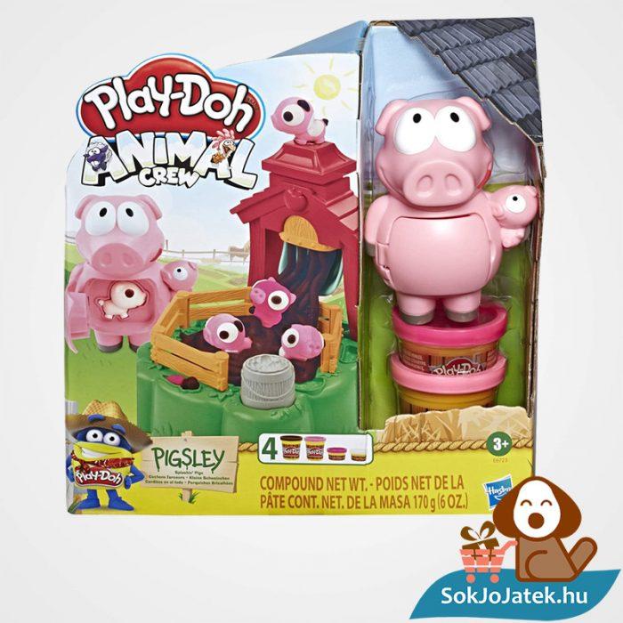 Play-Doh Animal Crew: Malac család - színes malacos gyurma szett doboza