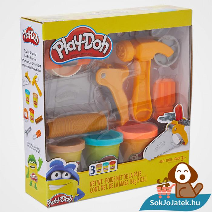 Hasbro Play-Doh barkács gyurma szett doboz eleje