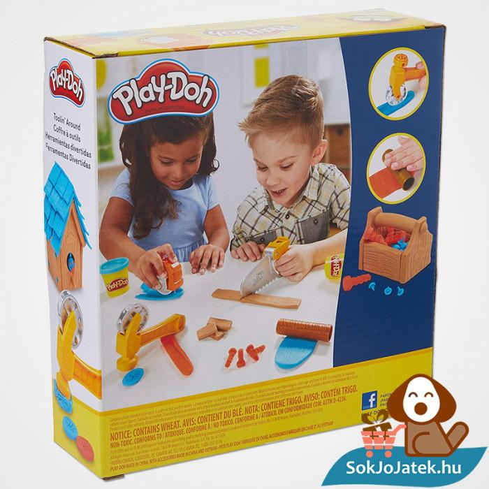 Hasbro Play-Doh barkács gyurma szett doboz hátulja