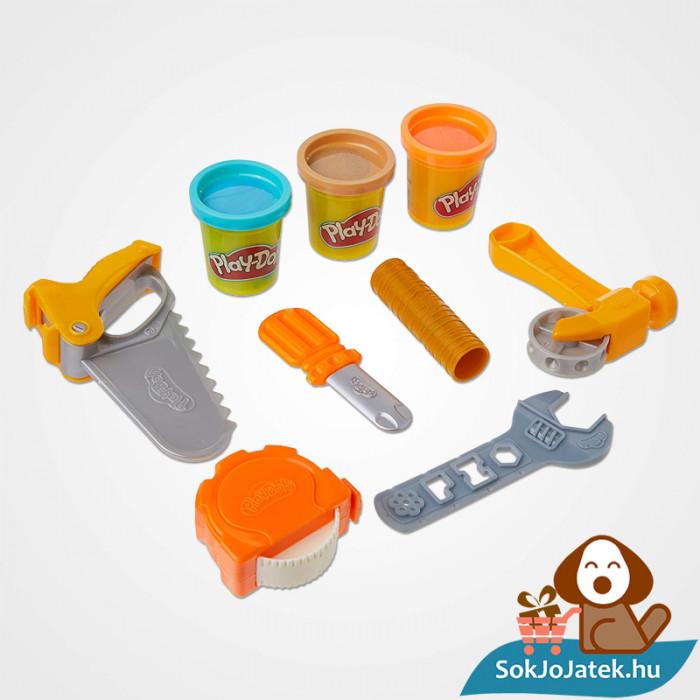 Hasbro Play-Doh barkács gyurma szett tartozékai