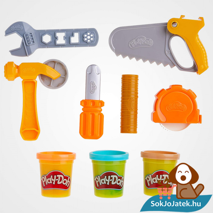 Hasbro Play-Doh barkács gyurma szett kibontva