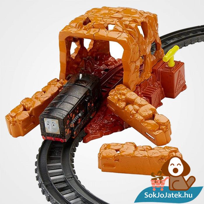 Thomas Trackmaster bányaomlás vonat pálya szett akcióban. Fisher-Price 1538694