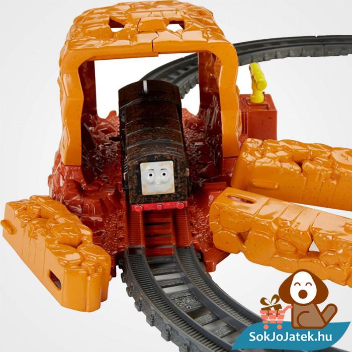 Thomas Trackmaster bányaomlás vonat pálya szett omlás közben. Fisher-Price 1538694