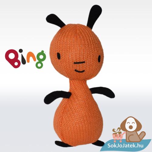 19 centiméteres Flop plüss figura a Bing nyuszi és barátai karakterek előről