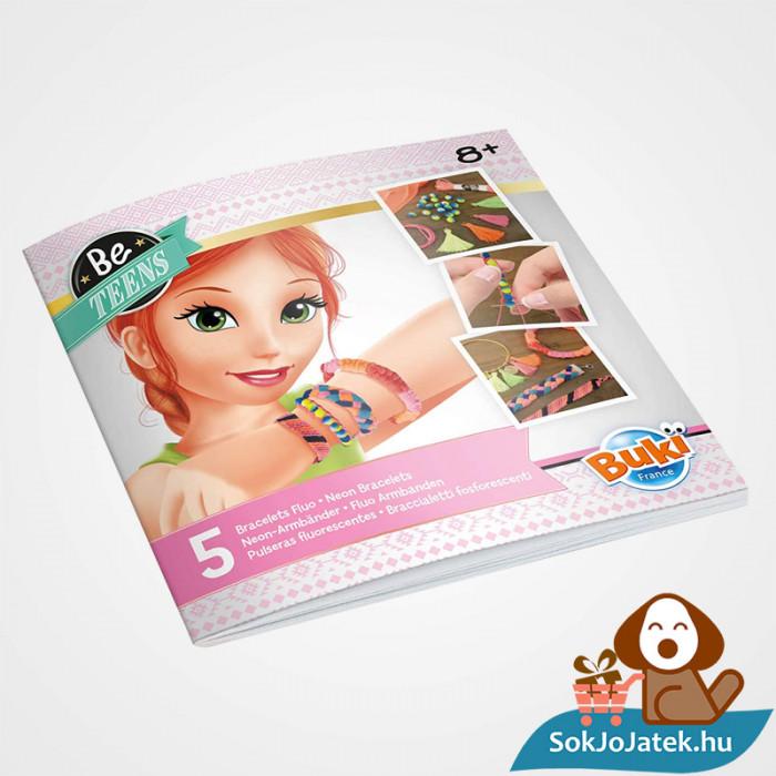 Neon karkötő készítő szett segítő kézikönyv lányoknak - BUKI France