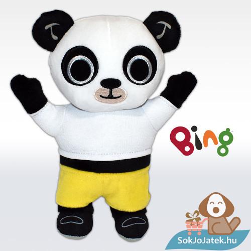 22 centiméteres Pando, a plüss panda a Bing és Barátai meséből előről