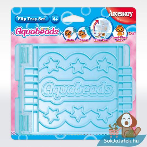 Aquabeads flip tálca kiegészítő csomagolás előről az Aqua gyöngy készítéshez