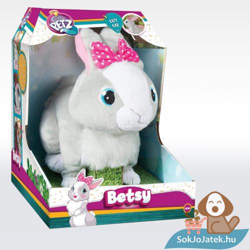 Betsy nyuszi, az interaktív plüss doboza oldalról - IMC Club Petz