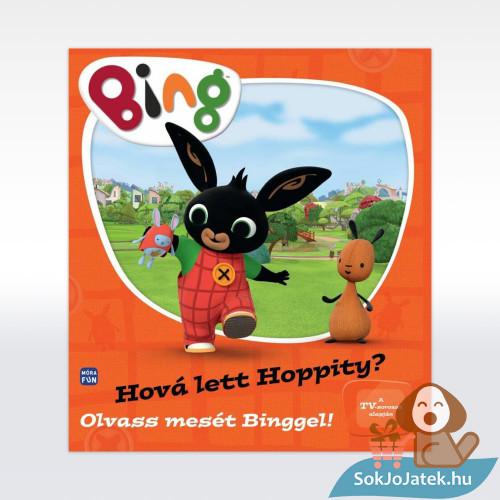 32 oldalas Bing nyuszi - Hová lett Hoppity illusztrált mesekönyv