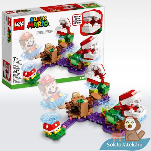 Lego 71382: Super Mario lego, a piranha növény rejtélyes feladata kiegészítő szett