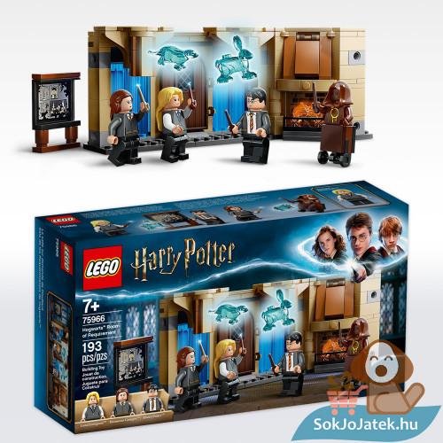 Lego 75966: Harry Potter - Roxfort a szükség szobája Lego doboza és összeépítve