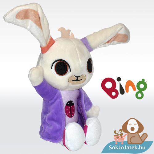Coco plüss nyuszi figura balról (25 cm) csörgő-zörgő fülű - Bing és Barátai